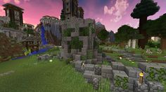 Minecraft Monument / Creeper Shrine