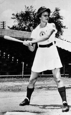 "Doris Sams This undated photo taken circa 1950-53 shows Doris Sams, a leading player in the All-American Girls Professional Baseball League, during her playing days with the Kalamazoo Lassies. Sams, a fast-pitch player from Knoxville, Tenn., who helped inspire the movie ""A League of Their Own,"" died June 28 at the age of 85. Sams was a five-time All-Star during her eight-year pro career, according to the league's website."