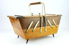 1950's sewing box