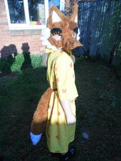 My version of Mrs Fox from Fantastic Mr Fox :)
