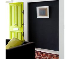 Interior Ideas: 12 Colorful Doors on the Inside Photo