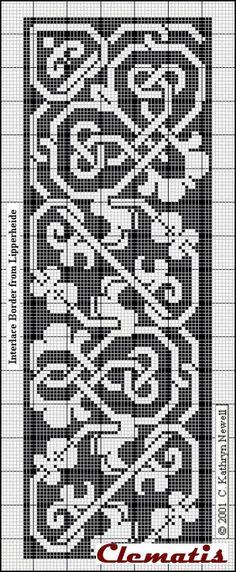 Most recent Pics Needlepoint patterns celtic Ideas Knitting charts celtic 58 Ideas Knitting charts celtic 58 Ideas Celtic Cross Stitch, Cross Stitch Borders, Cross Stitch Charts, Cross Stitching, Cross Stitch Embroidery, Cross Stitch Patterns, Needlepoint Patterns, Filet Crochet, Crochet Chart