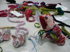 Textile Snakes