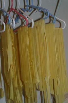 Perfect Homemade Pasta or Spaghetti for Kitchenaid Mixers. Photo by javaaddict
