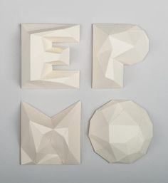 8 | Lovely Typefaces Made From Bubble Wrap And Paper | Co.Design | business + design