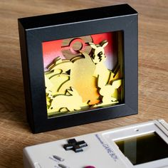 Nightmare Before Christmas Shadow Box 3D Art woodcraft frame custom handpainted