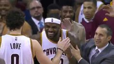 LeBron James Floats in the Game Winner