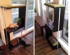 DIY modern cat furniture