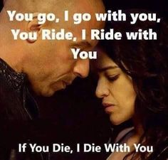 me and bae have grown as one and loves each other unconditionuly love you babe Fast And Furious Cast, The Furious, Movie Quotes, Life Quotes, Qoutes, Car Quotes, Dom And Letty, Paul Walker Movies, Dominic Toretto