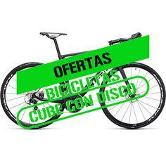 Oferta bicicletas de carretera  Cube con disco