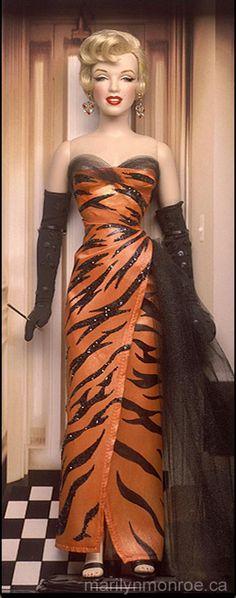 Marilyn Monroe Custom Dolls by Kim Goodwin