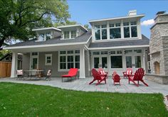 Patio Design Ideas. This patio is great for entertaining. #Patio #OutdoorSpaces #Fireplace