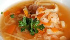 Vaříme bez tuku: Krevetová polévka se zázvorem