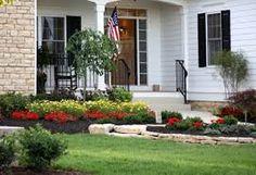 Landscape Design Ideas Entryway Entryway Should Be An Attractive . - Landscape Design Ideas Entryway Entryway Should Be An Attractive … Front Door Landscaping, Landscaping Trees, Front Entry, Front Porch, Outdoor Spaces, Outdoor Living, Diy Outdoor Furniture, Outdoor Decor, Landscape Maintenance