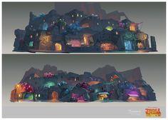 Concept Arts do seriado Troll Hunters, da DreamWorks, por Djahal | THECAB - The Concept Art Blog