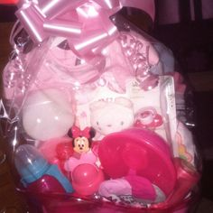 Basket for babygirls