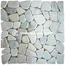 natural stone mesh tiles