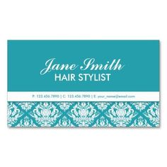 Make a terrific first impression with this Elegant Professional Cosmetologist Damask Floral Business Card Template. Customise this design as your own just in minutes. Business Card Maker, Unique Business Cards, Professional Business Cards, Business Card Design, All You Need Is, Text Style, Damask, Floral, Prints