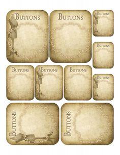 Sheet Button kaartjes