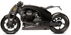Renard GT Moto Guzzi Engine and Carbon Fiber Frame by Renard Motorcycles