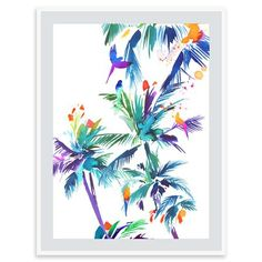 Summer Thornton - Le Jardin Ensoleille´, Mounted Limited Edition Print, 50x60cm