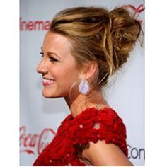 Celeb Bridal Updo Hairstyles blake lively wavy updo bridal hairstyle – Hairstyle Muse