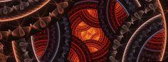 Fractal Art Facebook Cover 31