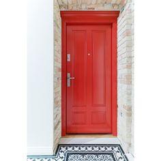Nasze #drzwizewnętrzne robione na wzór #drzwi wewnętrznych Muscari. Do kamienicy i nowoczesnych ludzi ze starą duszą jak znalazł. Zapraszamy #doors #kerno #drzwiwejściowe #loft #minimal #red #czerwony #kamienica #design #bialystok #dobrydesign #architektura #arch #interiordesign #archit #olddoors #doorsofinstagram #drewno #warszawa #dom #retro #label Dom, Tall Cabinet Storage, Minimal, Furniture, Instagram, Home Decor, Decoration Home, Room Decor, Home Furnishings