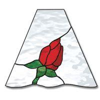 Free Pattern, Rosebud Lamp - Square
