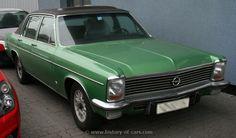 Opel Admiral B 1972-1977