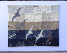 Great Gulls Quilt Kit  A lovely coastal quilt by JanetClare