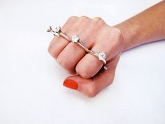 'til death do us part knuckle duster | kate bauman | contemporary enamel, jewelry, art & design