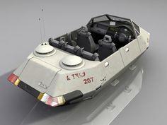 Air Raft Rear by Scarecrovv.deviantart.com on @DeviantArt