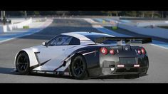 R35 NISSAN GT-R Race Car 2010 FIA GT1