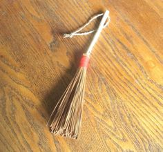 Pine Needle Whisk Broom Primitive Rustic Decor by midnightcoiler