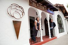 The Penny Ice Creamery is a fun, fresh spot to cool down on hot summer nights. They use local and season ingredients too! #Icecream #SantaCruz