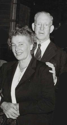 Theodore & Marelle Flynn in 1954 - Errol Flynn's parents
