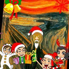嘩!聖誔節嘅Sticker出咗喇!成班街坊已準備好,快啲開 #多Fun相機 令你嘅聖誕更繽紛啦!http://ow.ly/nWIU6