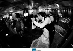 Bride and Groom dancing at their Wedding  Photographed Michael Greenberg of Phototerra.  http://www.phototerra.com