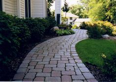 tumbled paver path - Google Search
