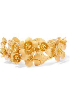 Valentino | Gold-tone cuff | NET-A-PORTER.COM