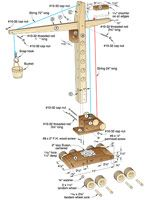 Contractor Grade Mobile Crane Woodworking Plan