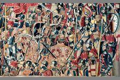 Legendary set of Gothic Pastrana tapestries