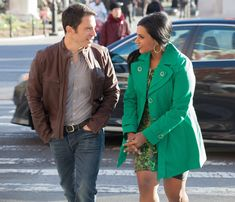 It's Easy Being Green from All of Mindy Kaling's Looks in The Mindy Project's Romantic Season 2 Finale | E! Online