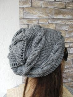 Great accessory for anytime of the year, great for any hair style, color, type or head size.One size fits most...from teens to women. This unique hat is one of my own designs and hand made by me from scratch. It is sold only in my shop through the world and when you buy this unique hat you will