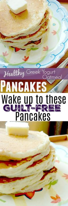 Low Carb Recipes To The Prism Weight Reduction Program Healthy Greek Yogurt Oatmeal Pancakes Best Breakfast Recipes, Savory Breakfast, Breakfast Items, Healthy Breakfast Recipes, Peach Smoothie Recipes, Smoothies, Greek Yogurt Oatmeal, Oatmeal Pancakes, Fluffy Pancakes
