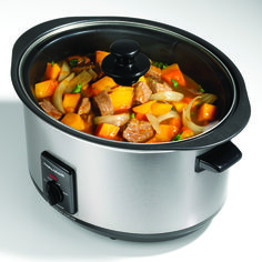 The 48705 model is a premium Morphy Richards 6.5L brushed stainless steel slow cooker, with a sear and stew capability. Check the rest of our worktop cooking range here.
