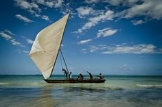 Zanzibar, Boat, Sail, Sunset, Relax, Sea