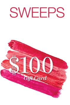 Try your chances at winning a $100.00 Gift Card from Allure to purchase your favorite beauty products from soap.com.  This sweepstakes ends on Oct 31st with the drawing on Nov 16th!  You got nothing to lose and who knows – someone has to win – it could be you! http://ifreesamples.com/snag-100-00-gift-card/