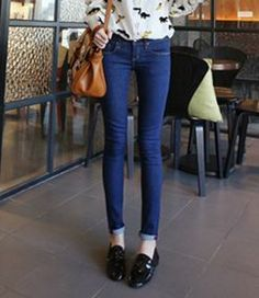 #jeans for women blue spring